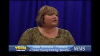 Noele Richmond, Amador County FFA Ag. Boosters TSPN TV News Interview