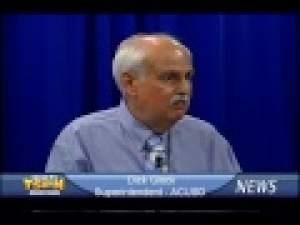 Amador County Unified School District Superintendent Dick Glock on TSPN TV News In-Depth 5-29-13