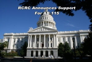 RCRC announces support for AB 115