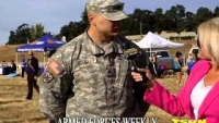 Memorial Day Wounded Veteran Run Part 1 on Armed Forces Weekly 5-28-13