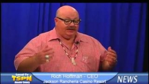 Jackson Rancheria Casino Resort CEO Rich Hoffman on TSPN TV News In-Depth 10-18-13