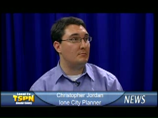 Christopher Jordan - Ione City Planner 5-19-09