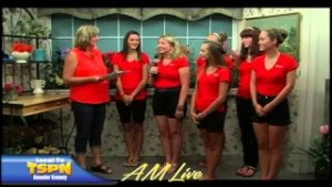 2013 Miss Amador Contestants on AM Live 7-17-13