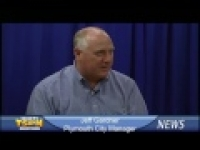 Plymouth City Manager Jeff Gardner on TSPN TV News 4-28-14