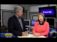 Lynn Clevenger of the Plymouth Foothills Rotary is on AMLive TSPN TV 3 11 15