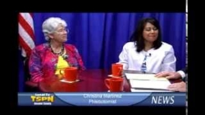 Debbie Blasingame and Christina Martinez on TSPN TV News In-Depth 10-1-13