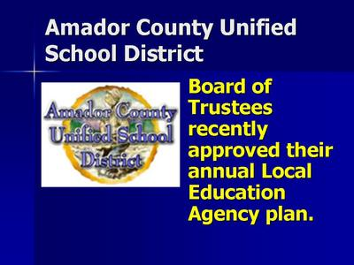 ACUSD Approves Education Plan For Future