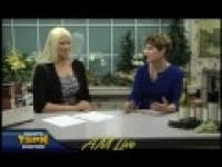 Geri Swift is on AM Live on TSPN TV March 6, 2015