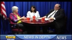 Medical Concerns and the Affordable Care Act on TSPN TV News In-Depth 10-1-13