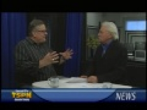 Jim McHargue is on Noon News on TSPN TV April 15, 2015