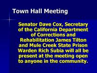 CDC, MCSP, & Senator Dave Cox Will Discuss Wastewater Issues At Town Hall Meeting