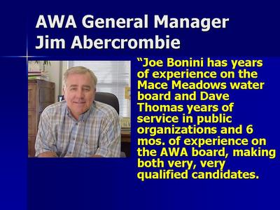 New Face On The Amador Water Agency Board of Directors