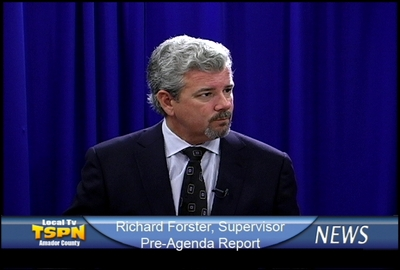 Board of Supervisors Pre-Agenda Report with Richard Forster