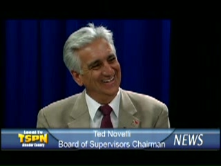 Ted Novelli - Board of Supervisors Chairman 6-19-09