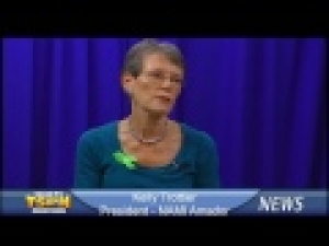 NAMI of Amador President Kelly Trottier on TSPN TV News In-Depth 10-2-13
